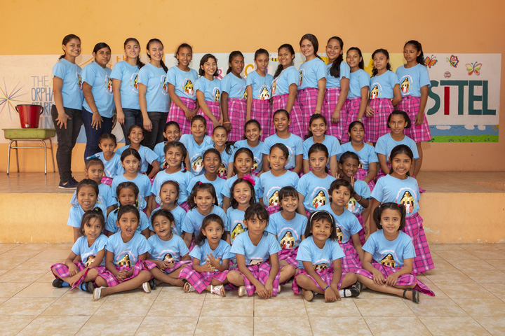 Girls Home Group Shot